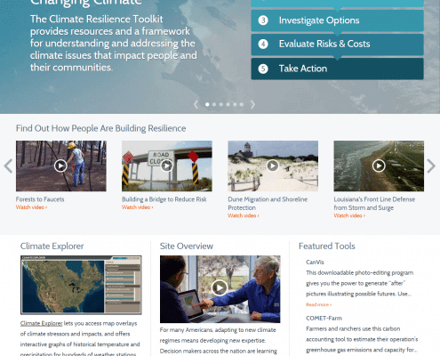 Climate Resilience Toolkit Homepage
