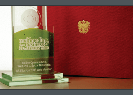 Austrian National Award - Multimedia and E-Business 2008