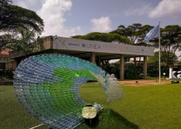 Photo of UNEP Headquarters Entrance