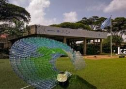 Photo of UNEP Headquarters Entrance