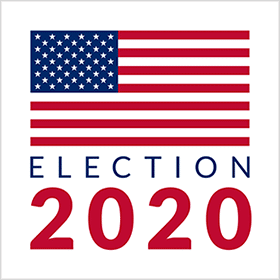 US Election 2020 Web Monitor Logo