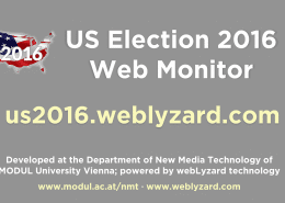 US Election 2016 Web Monitor