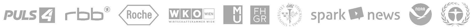webLyzard Customer and Partner Logos