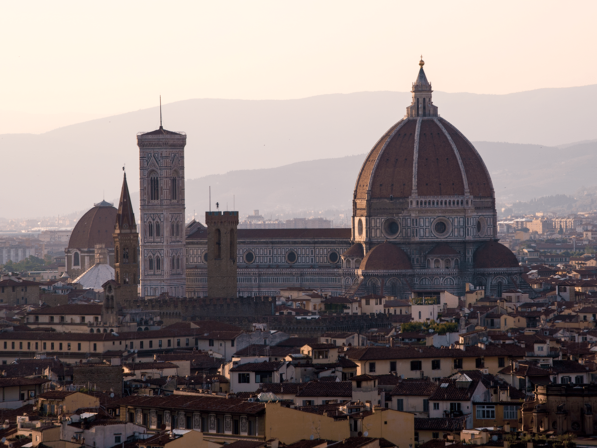 Dome of Florence, Italy (WWW-2015)